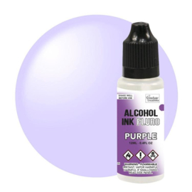 Couture Creations Alcohol Ink FLURO Purple