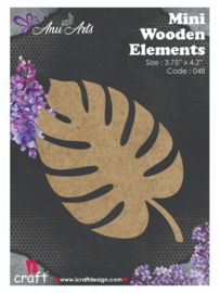 Icraft Mini wooden elements fridge magnet-048