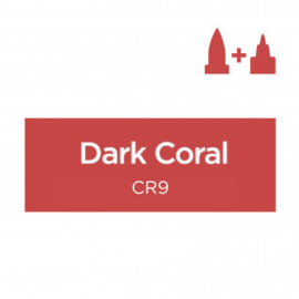Spectrum Noir Illustrator losse pennen - Dark Coral (Donker Koraal CR9)