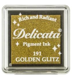 Delicata Golden Glitz Small inkpad DE-SML-191