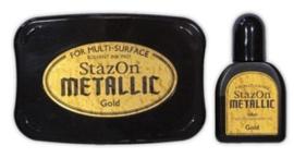 StaZon -  inkpad set metallic gold SZ-000-191
