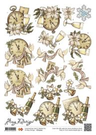 3D Knipvel - Amy Design - Clocks and Bells CD10303
