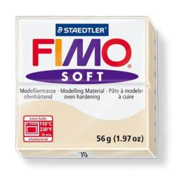 Fimo soft boetseerklei 56 g sahara