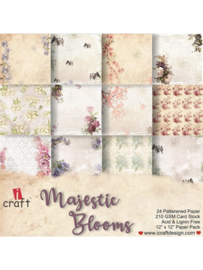 "iCraft - Majestic Blooms - Paperpad 12""x12"""