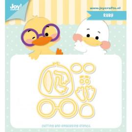 Joy! stencil  - Jocelijne - Ruby 6002/1273