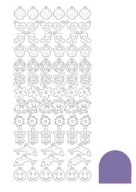 Sticker Charm - Mirror Purple
