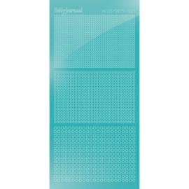 Hobbydots sticker - Mirror - Emerald