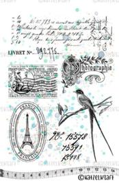 Katzelkraft - Ephemera - Rubber Stamps - KTZ252