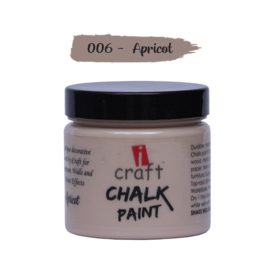 icraft chalk paint 50ml Apricot 006