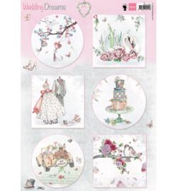 3D Knipvel - Marianne Design - Wedding Dreams - EWK1266
