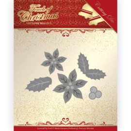 Precious Marieke - Touch of Christmas - Poinsettia PM10187