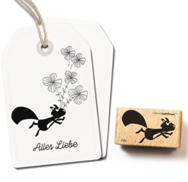 Cats on Appletrees - Stempel - Eekhoorn Ella
