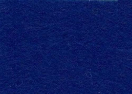 Viltlapjes viscose donkerblauw  20x30cm - 1mm