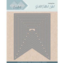 Card Deco Essentials - Nesting Dies - Bullet fishtail label