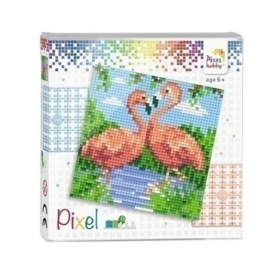 Pixelhobby Set Flamingo's 44002