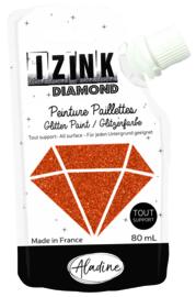 IZINK Diamond glitterverf/pasta - 80 ml, koper