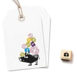 Cats on Appletrees - 2324 - Ministempel - groot kado
