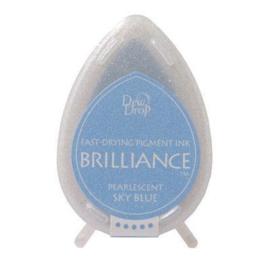 Brillance dew drops  BD-000-038 Pearlescent Sky blue