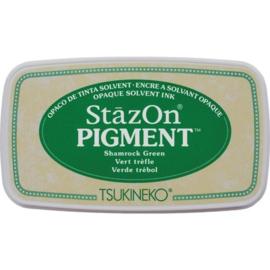 "Stazon pigment inkpad  SZ-PIG-051 ""Shamrock green"""