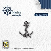 """VCS004 CLEAR STAMPS VARIOUS DESIGNS """"MARITIME: ANCHOR"""""""