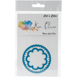 Ken Oliver Cut 'n Color Die-Flower Set 2