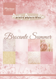 Marianne design Pretty Papers bloc Brocante Summer PK 9166