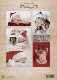 "NEVI061vintage ""Christmas babies"""