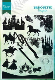 Marianne Design Stamps Silhouette Fairytales