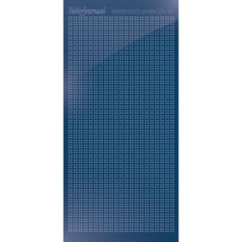 Hobbydots sticker Sparkles 01 Mirror Blue