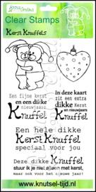 Anna Gretha Design - Stempels Kerstknuffels