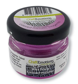 CraftEmotions Wax Paste metallic colored - magenta 20 ml