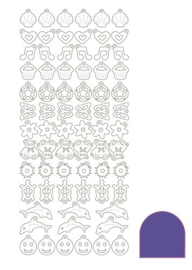 Sticker Charm - Mirror Violet