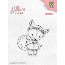 "Nellie's Christmas cuties ""Foxy christmas lady"" NCCS014"