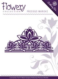 Die - Precious Marieke - Flowery - Fleur-de-Lis Ornament