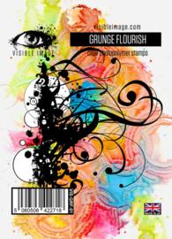 Visible image Grunge Flourish