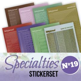 Specialties 19 Stickerset