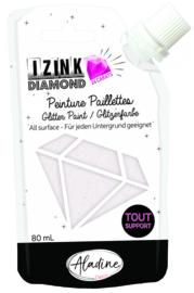 IZINK Diamond glitterverf/pasta 24 karaat- 80 ml, parelmoer