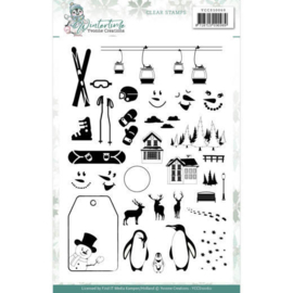 Clear Stamps - Yvonne Creations - Winter Time YCCS10060