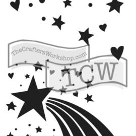 TCW2148 Rainbow Star 6x9