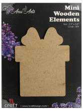 Icraft Mini wooden elements 009 (kado)