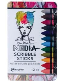 Dina wakley media scribble sticks