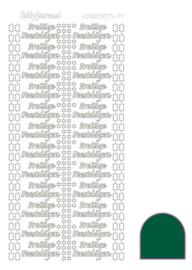 Hobbydots sticker - Adhesive - Green