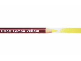 Derwent colorsoft Lemon yellow C030