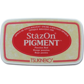 "Stazon pigment inkpad SZ-PIG-021  ""Passion Red"""