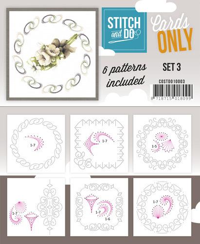 Stitch & Do - Cards only - Set 3