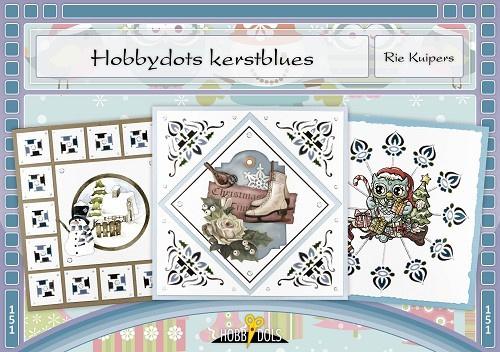 Hobbydols 151 - Hobbydots kerstblues