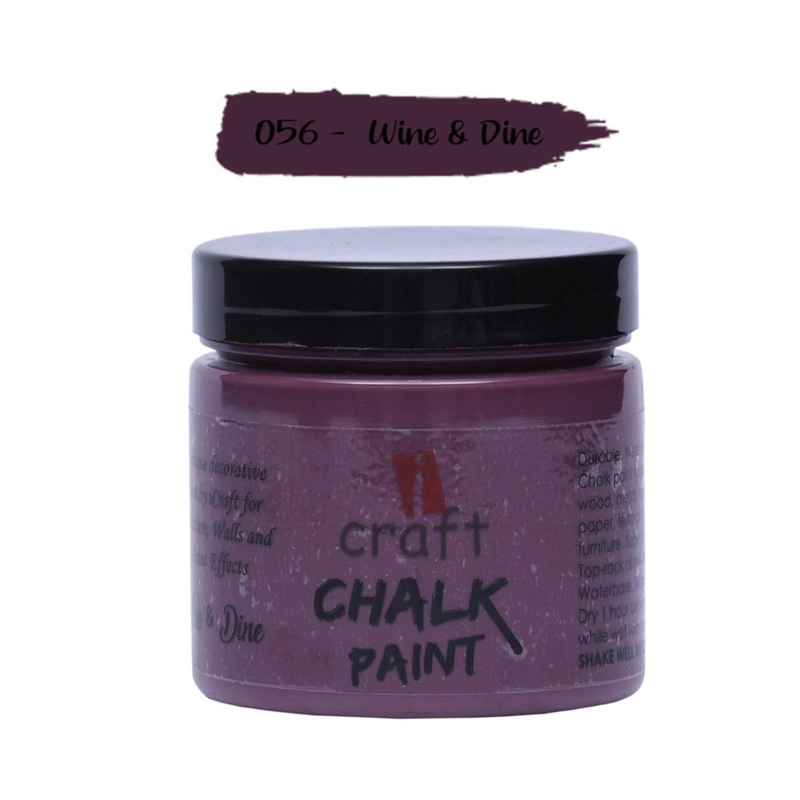 icraft chalk paint 50ml Roman Purple 055