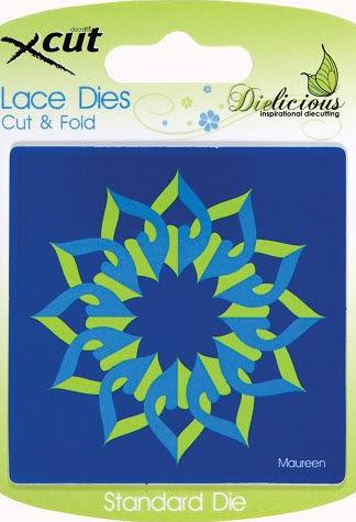 Docrafts - xcut - Lace Dies - Cut & Fold XCU 503143