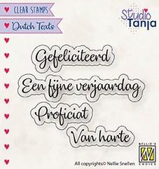 """Nellie Snellen - DTCS027 - Dutch Texts - """"Proficiat etc..."""""""