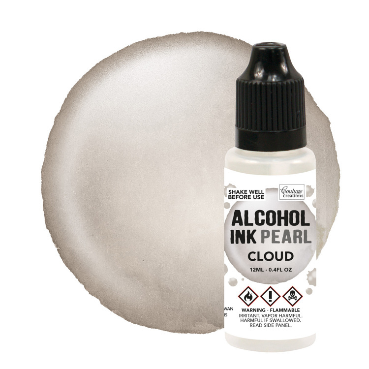 Couture Creations Smoulder / Cloud Pearl Alcohol Ink (12mL | 0.4fl oz)